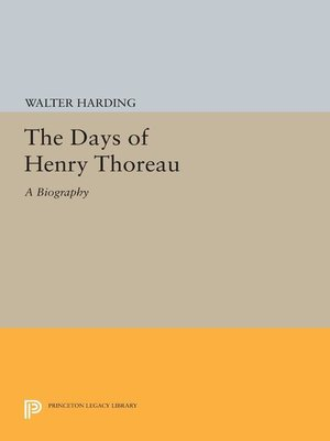 cover image of The Days of Henry Thoreau