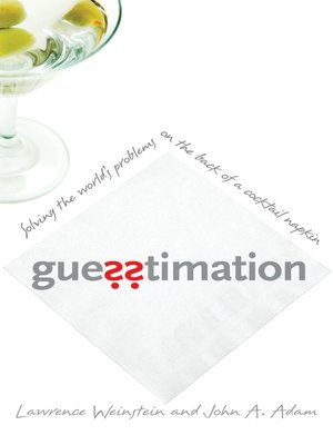 cover image of Guesstimation