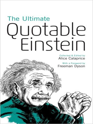 cover image of The Ultimate Quotable Einstein