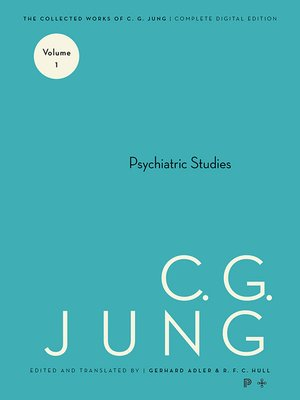 cover image of Collected Works of C.G. Jung, Volume 1