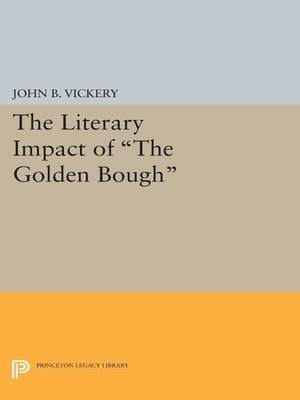 cover image of The Literary Impact of the Golden Bough