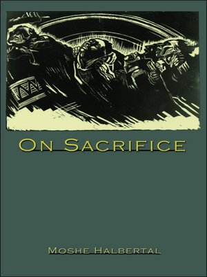 cover image of On Sacrifice