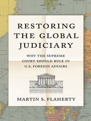 cover image of Restoring the Global Judiciary