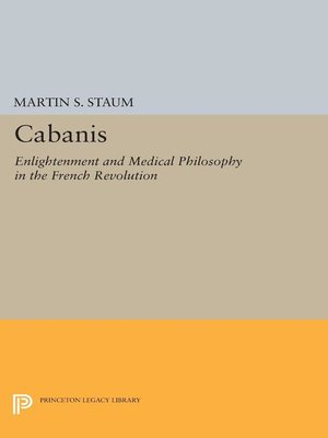 cover image of Cabanis