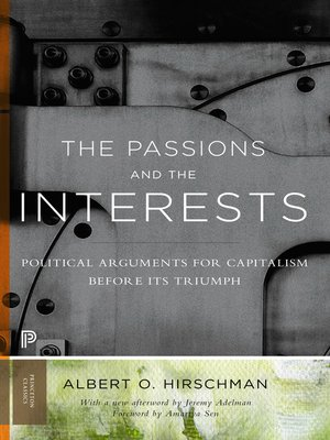 cover image of The Passions and the Interests