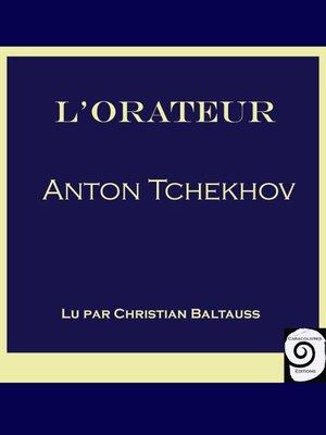 cover image of L'Orateur