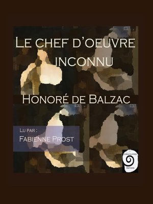 cover image of Le chef d'ouvre inconnu