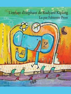 cover image of L'Enfant d'éléphant