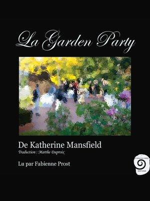 cover image of La Garden Party