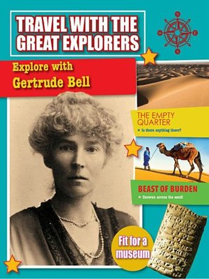 cover image of Explore with Gertrude Bell