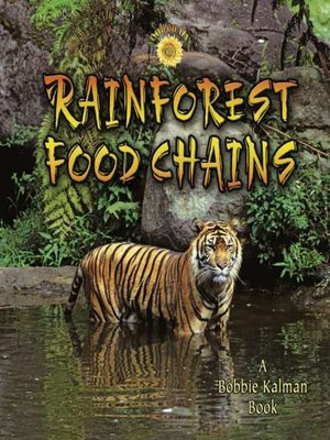 cover image of Rainforest Food Chains