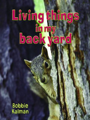 cover image of Living Things in My Back Yard