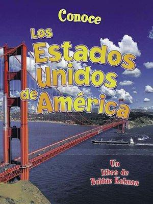 cover image of Conoce los Estados Unidos de América
