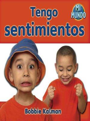 cover image of Tengo sentimientos