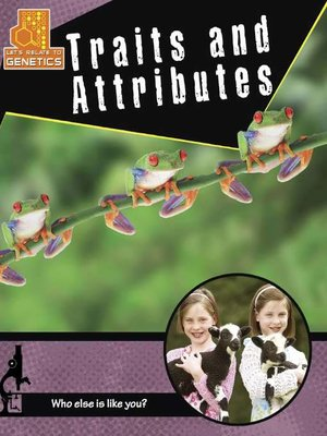 cover image of Traits and Attributes