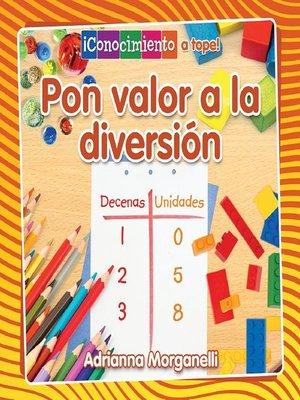 cover image of Pon valor a la diversión
