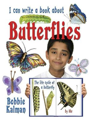 cover image of I Can Write a Book about Butterflies
