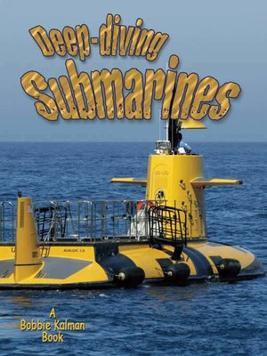 cover image of Deep-Diving Submarines