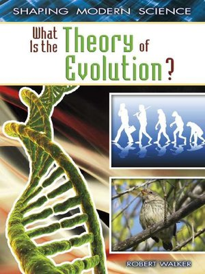 cover image of What Is the Theory of Evolution?
