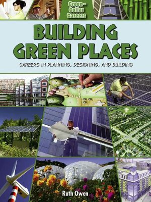 cover image of Building Green Places