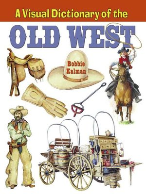 cover image of A Visual Dictionary of the Old West