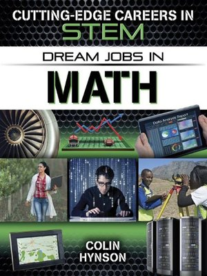 cover image of Dream Jobs in Math