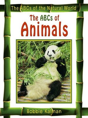 cover image of The ABCs of Animals