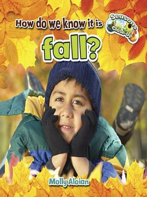 cover image of How do we know it is fall?