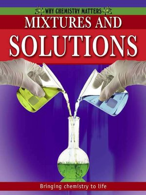 cover image of Mixtures and Solutions