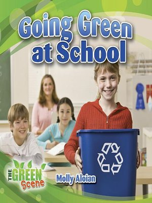 cover image of Going Green at School
