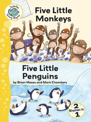 cover image of Five Little Monkeys and Five Little Penguins