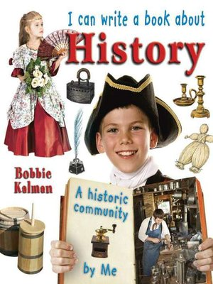 cover image of I Can Write a Book about History