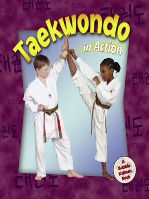 cover image of Taekwondo in Action