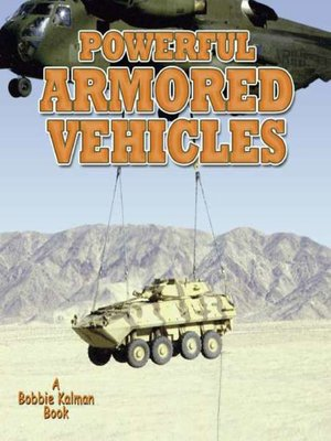 cover image of Powerful Armored Vehicles
