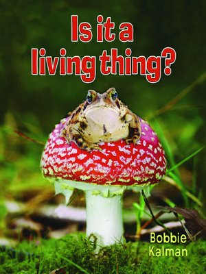 cover image of Is it a Living Thing?
