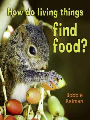 cover image of How do Living Things Find Food?