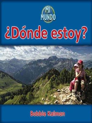 cover image of ¿Dónde estoy?