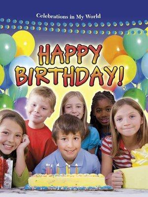 cover image of Happy Birthday!