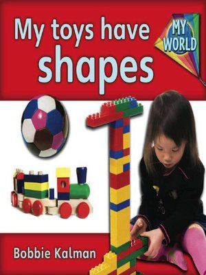 cover image of My Toys Have Shapes
