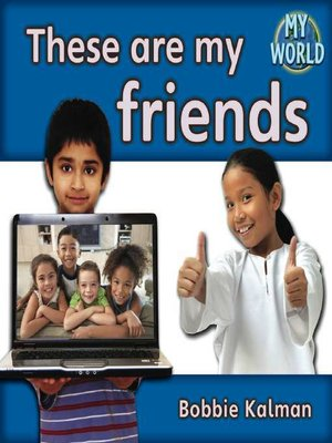 cover image of These Are My Friends