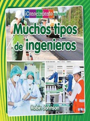 cover image of Muchos tipos de ingenieros