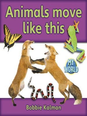 cover image of Animals Move Like This