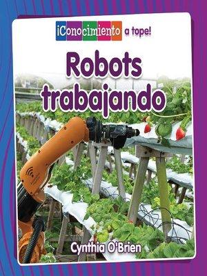 cover image of Robots trabajando