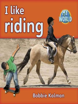 cover image of I Like Riding