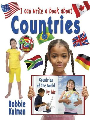 cover image of I Can Write a Book about Countries