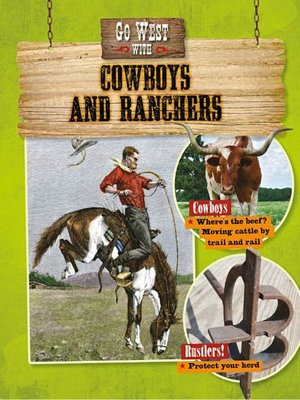 cover image of Go West with Cowboys and Ranchers