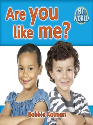 cover image of Are You Like Me?