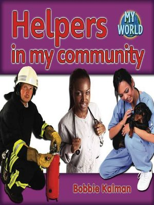 cover image of Helpers in My Community