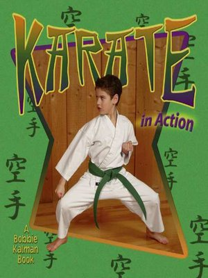 cover image of Karate in Action