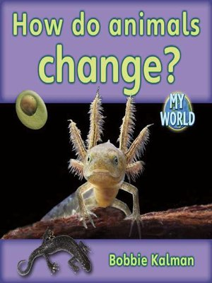 cover image of How Do Animals Change?